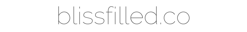 blissfilled.co - logo